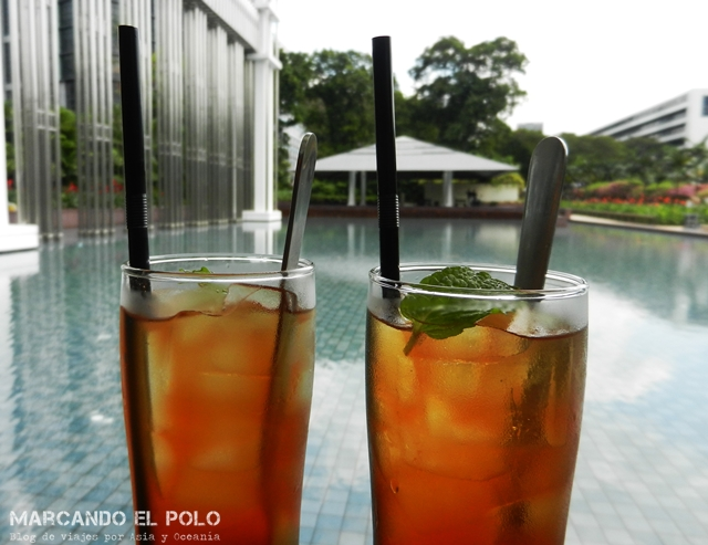 Gratis en Singapur - Bebida