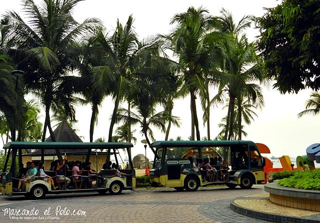 Gratis en Singapur - Bus Sentosa