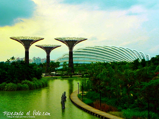 Gratis en Singapur - Gardens by the bay