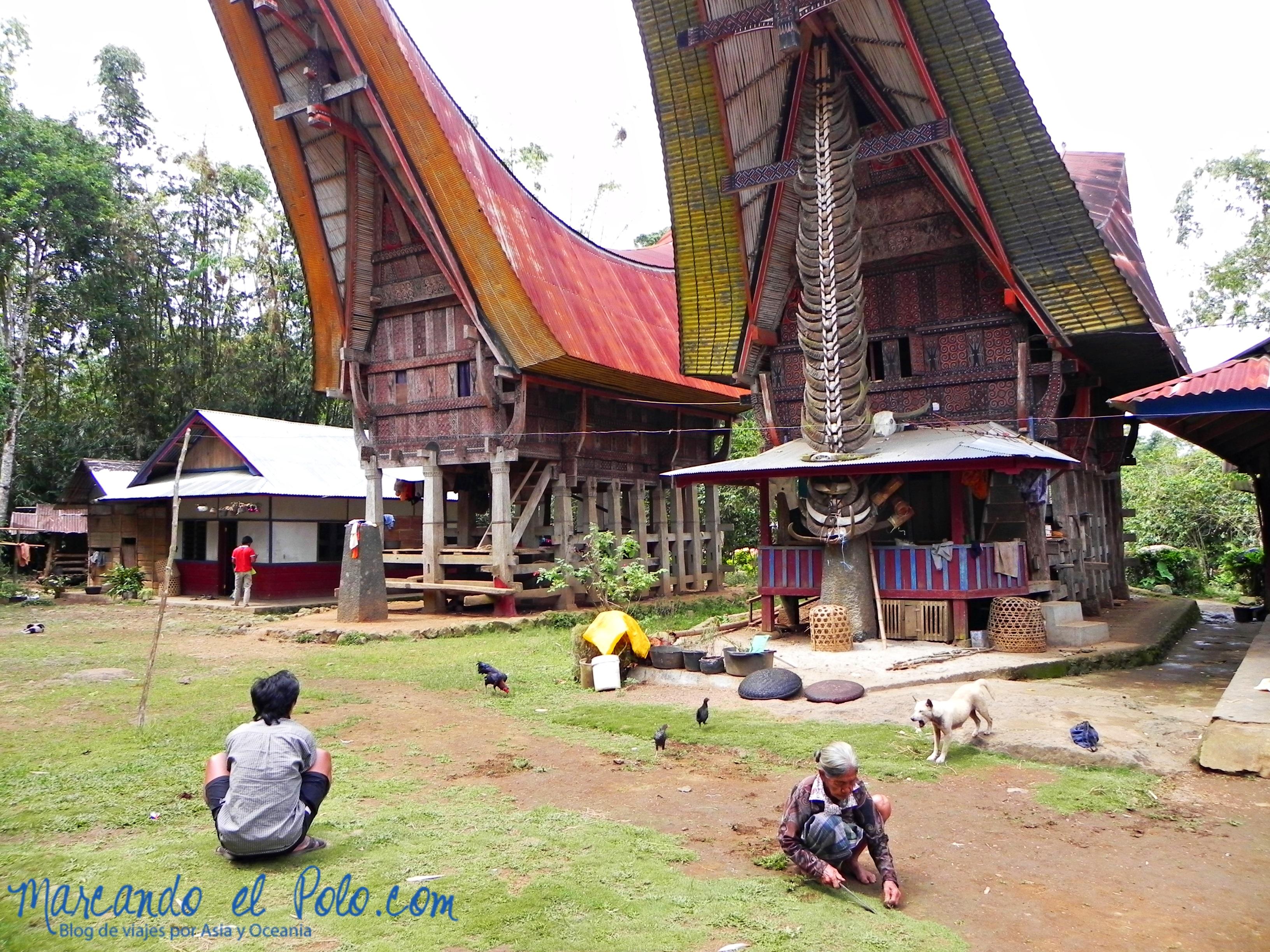 Viajar a Indonesia - Aldea Toraja, Sulawesi