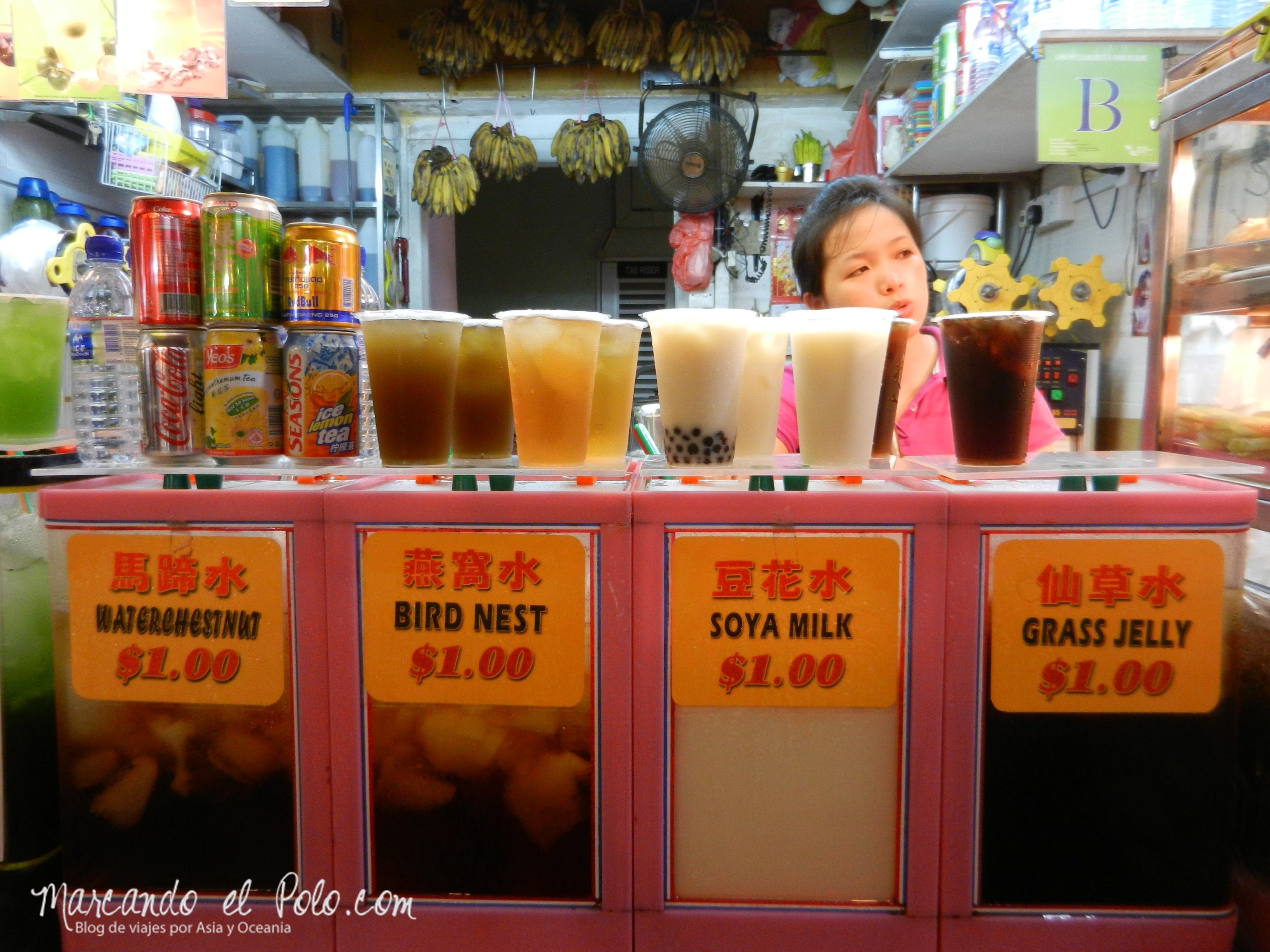 Bebidas en Singapur