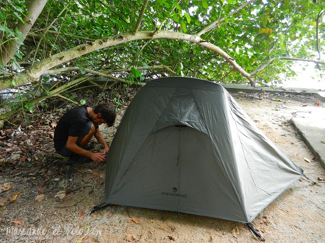 Presupuesto Singapur - Acampar gratis