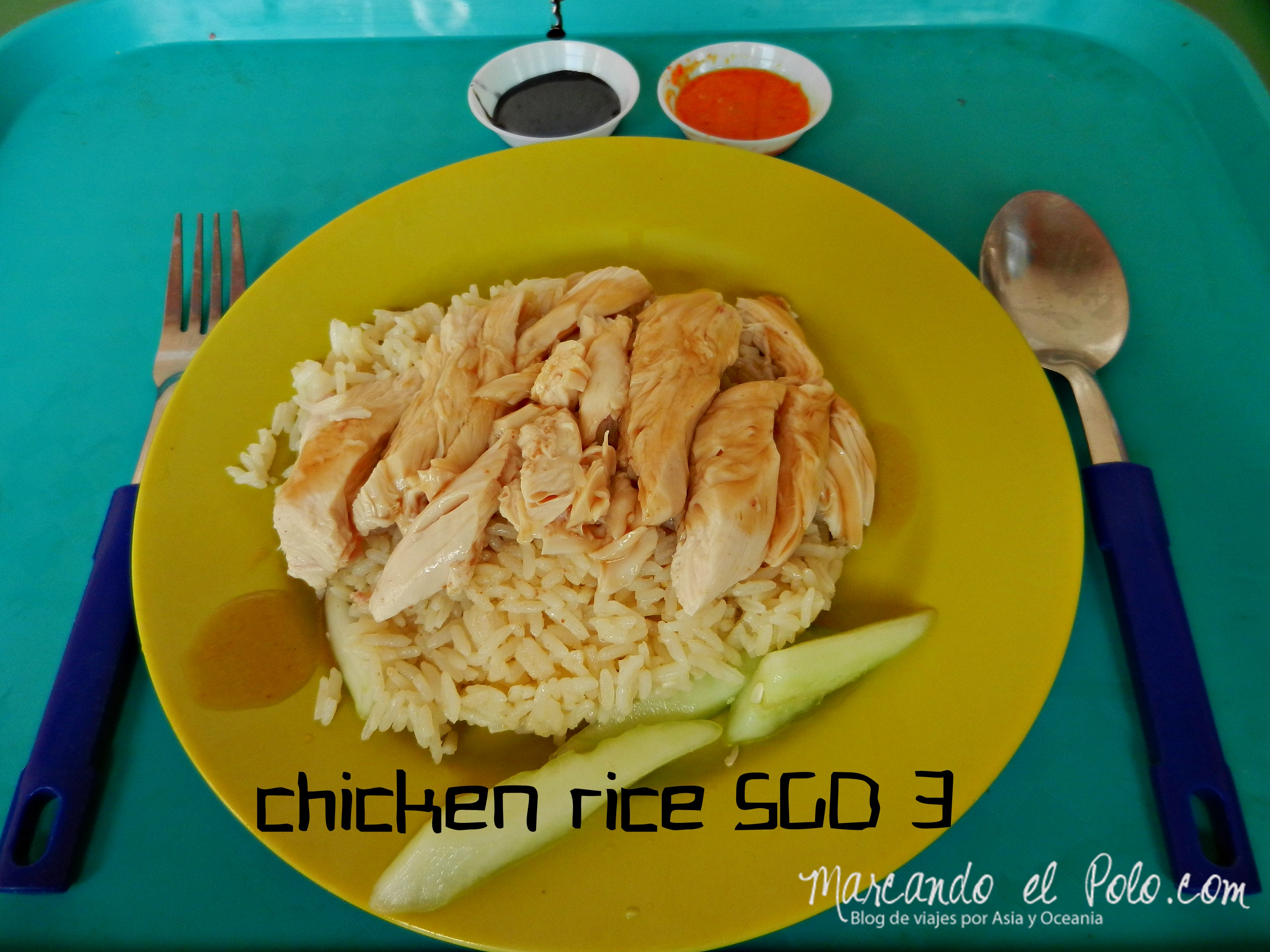 Chicken Rice en Singapur, Asia