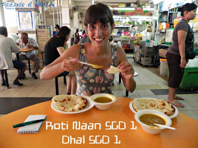 Comiendo en Singapur, Asia