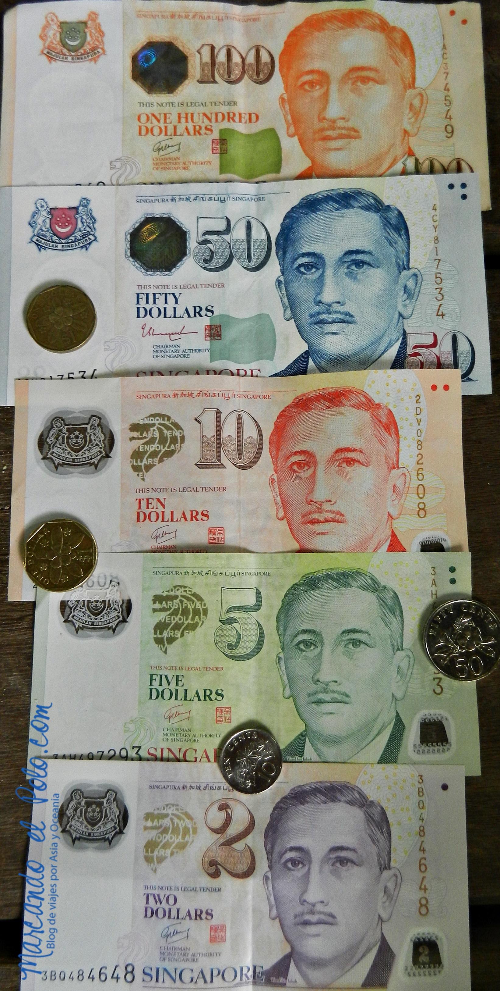 Con ustedes... ¡el dólar singapurense!