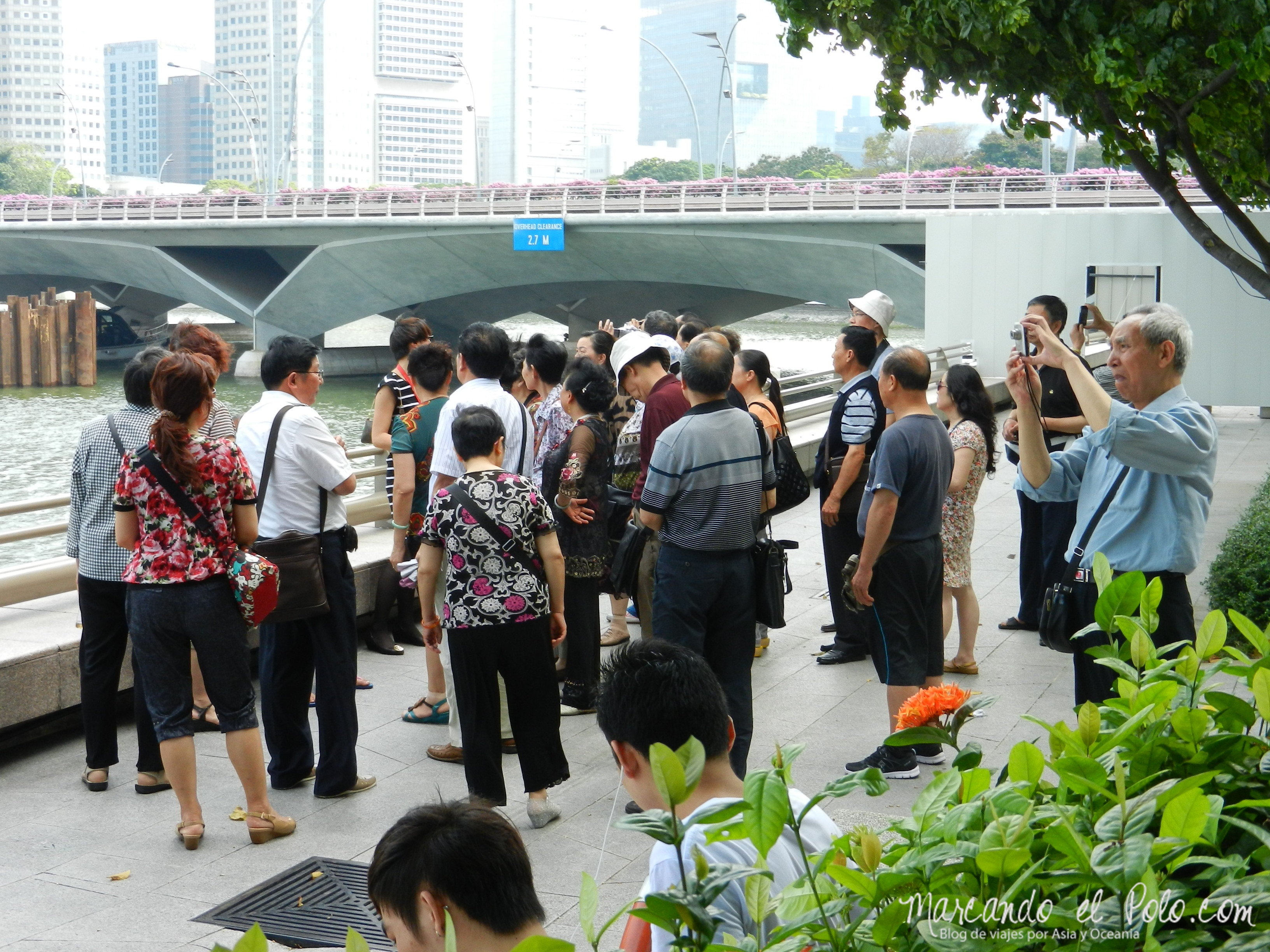 Visitas guiadas gratuitas en Singapur