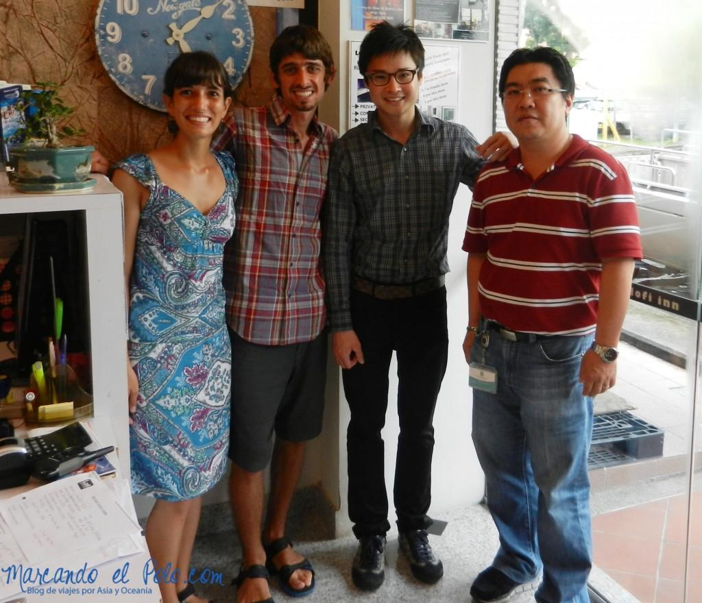 Consultores para un hostel en Singapur. Todo es posible...