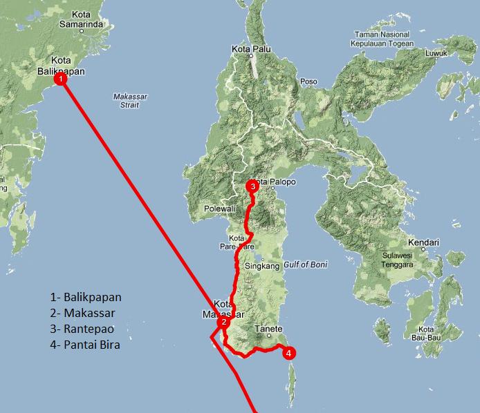 Viajar a Indonesia - itinerario Sulawesi