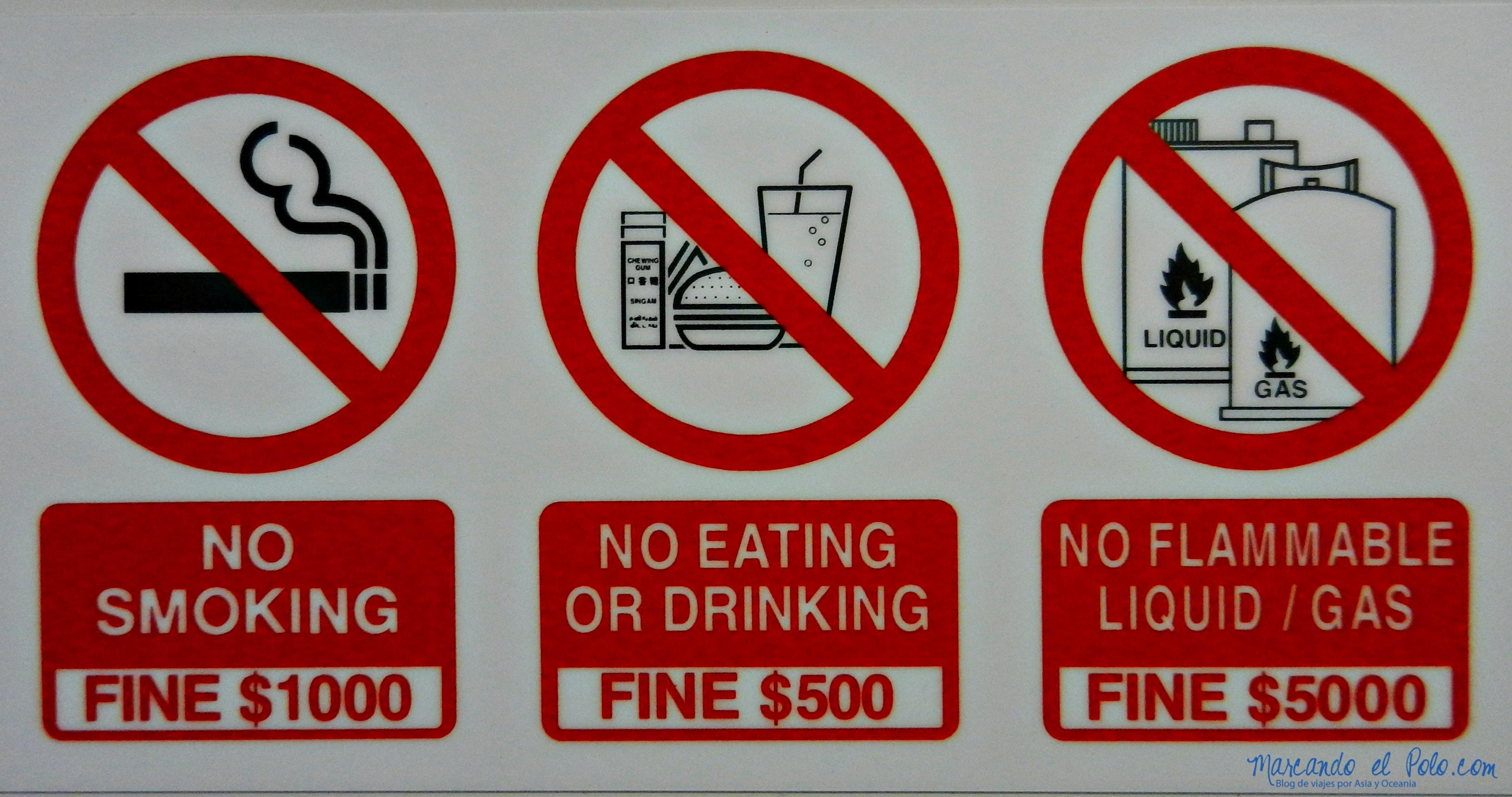 Cuidado con las multas, no son nada baratas...