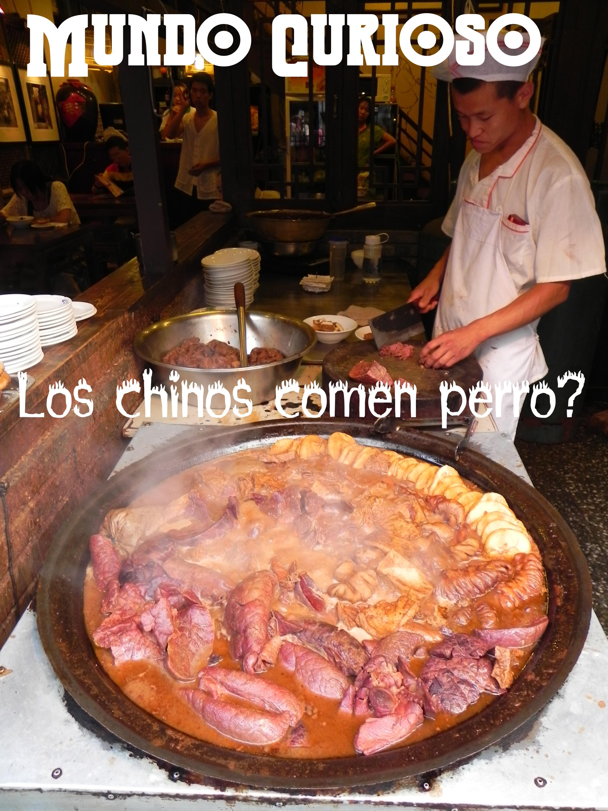 ¿Los chinos comen perro?