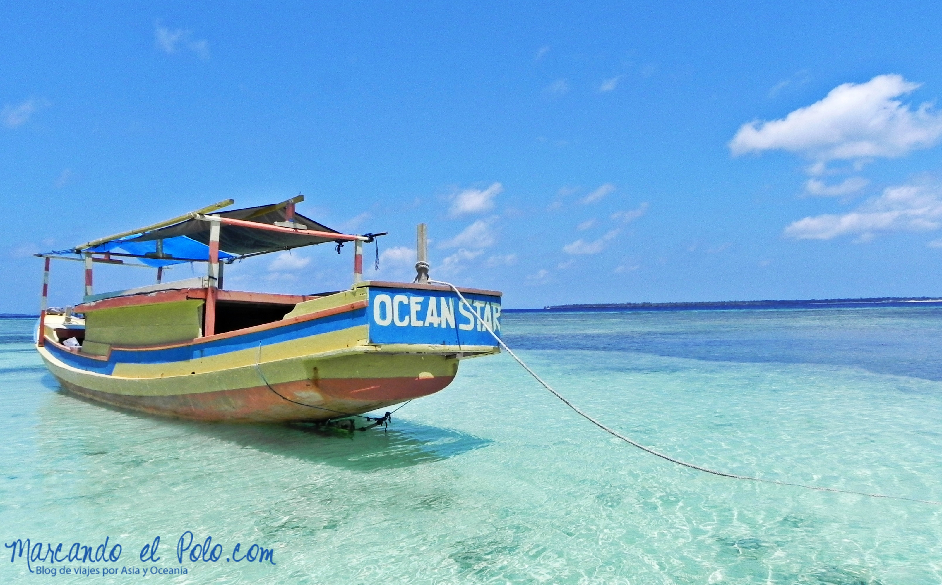 Viajar a Indonesia - Pantai Bira playa