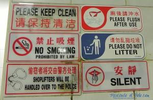 Viajar a Singapur - reglas y multas