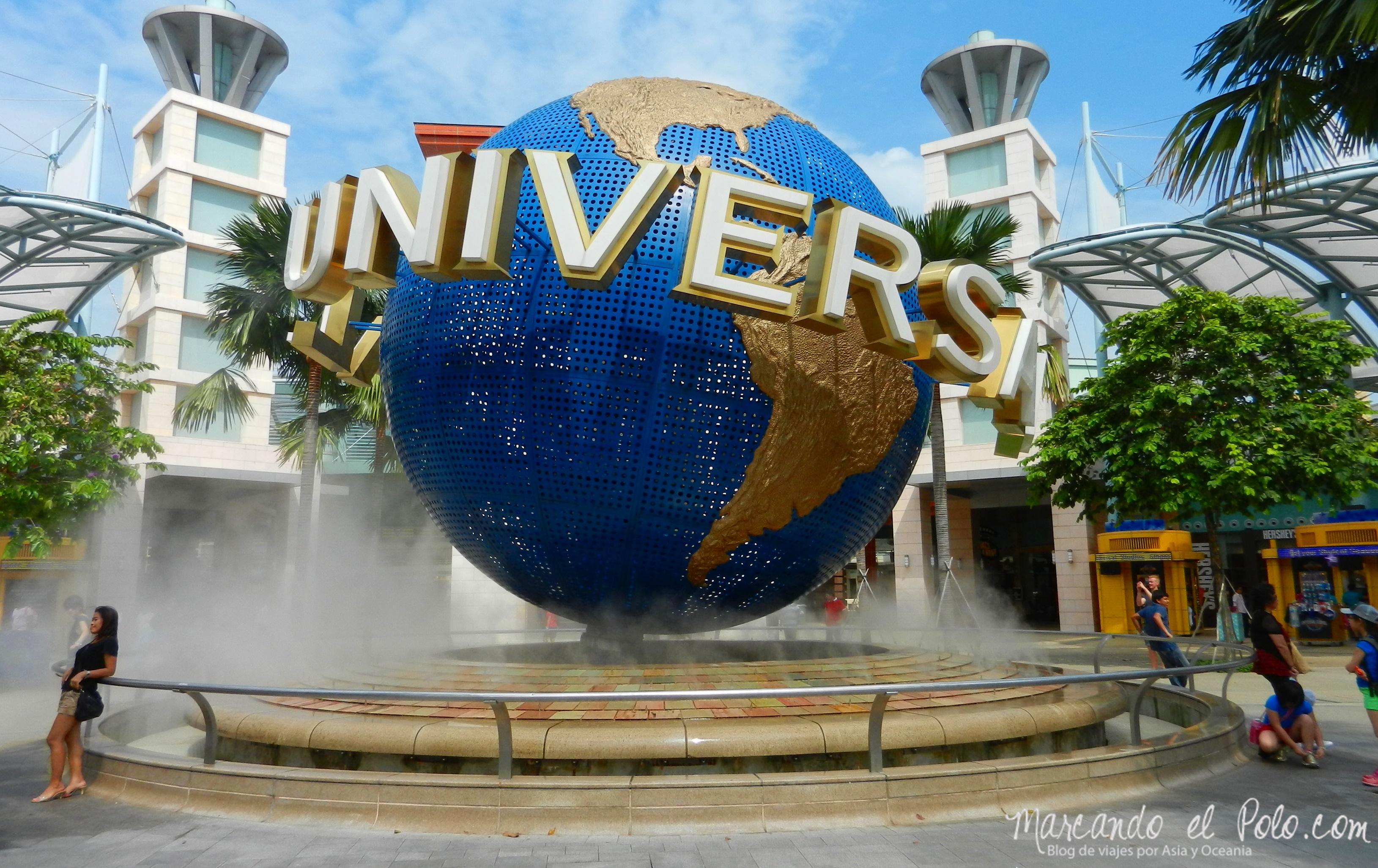 Sentosa Universal Stuidios Singapur