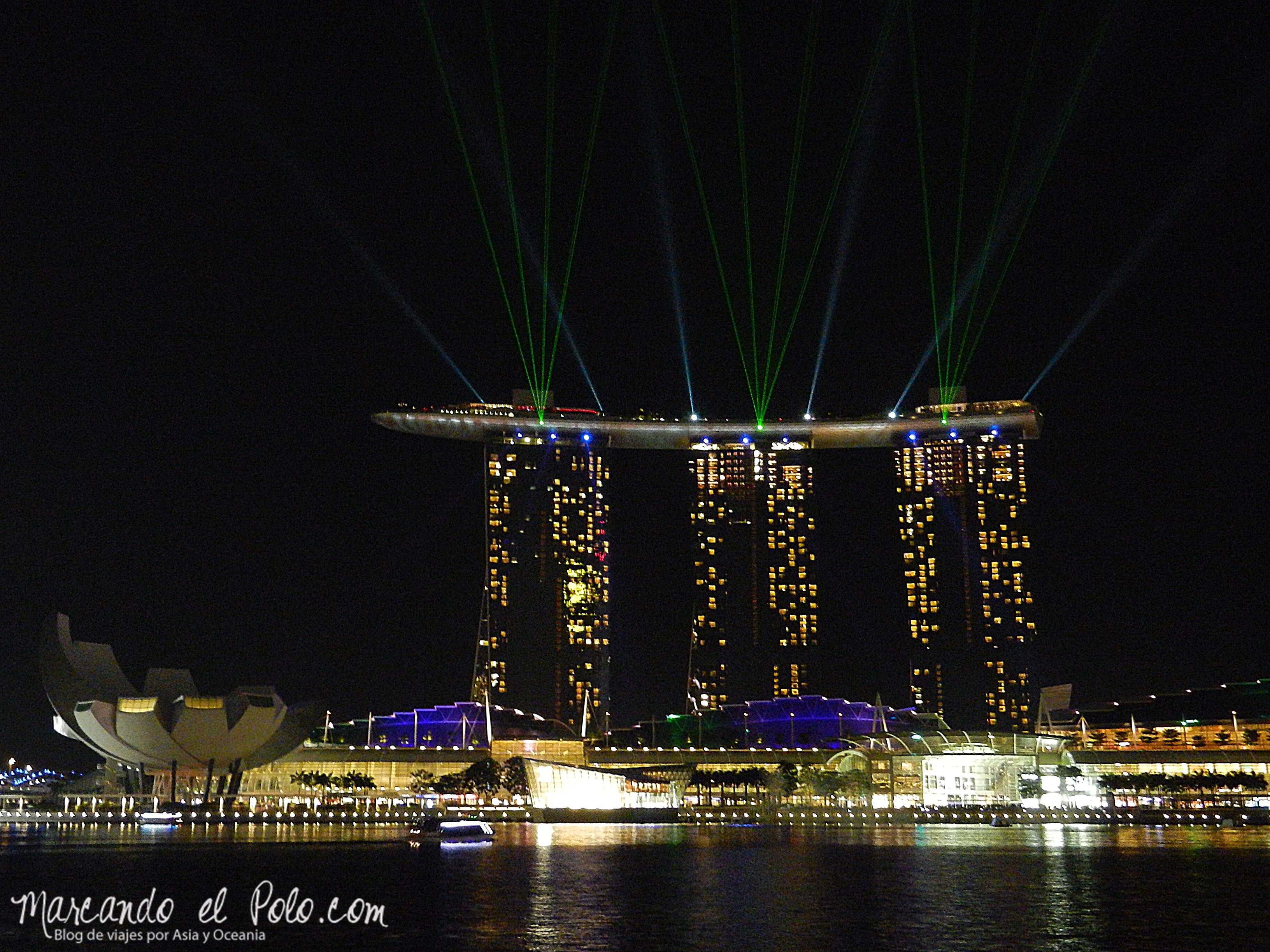 Singapur no deja de brillar.