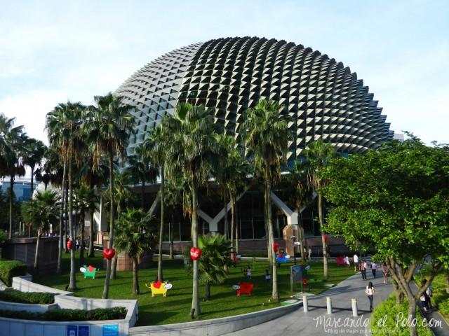 """The Esplanade, también conocidos como """"los durian"""". Singapur"""