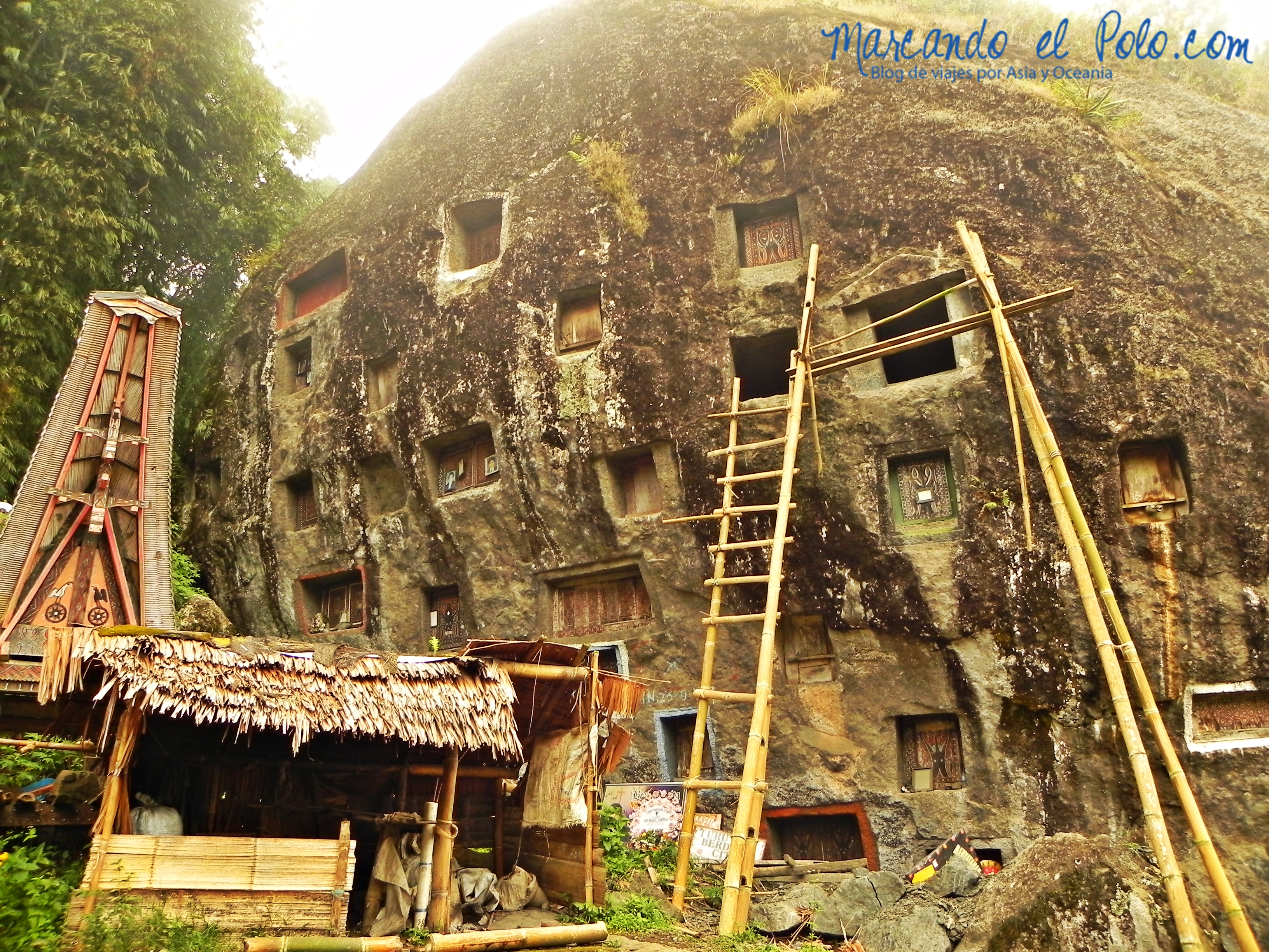Viajar a Indonesia - Tumbas Toraja, Sulawesi