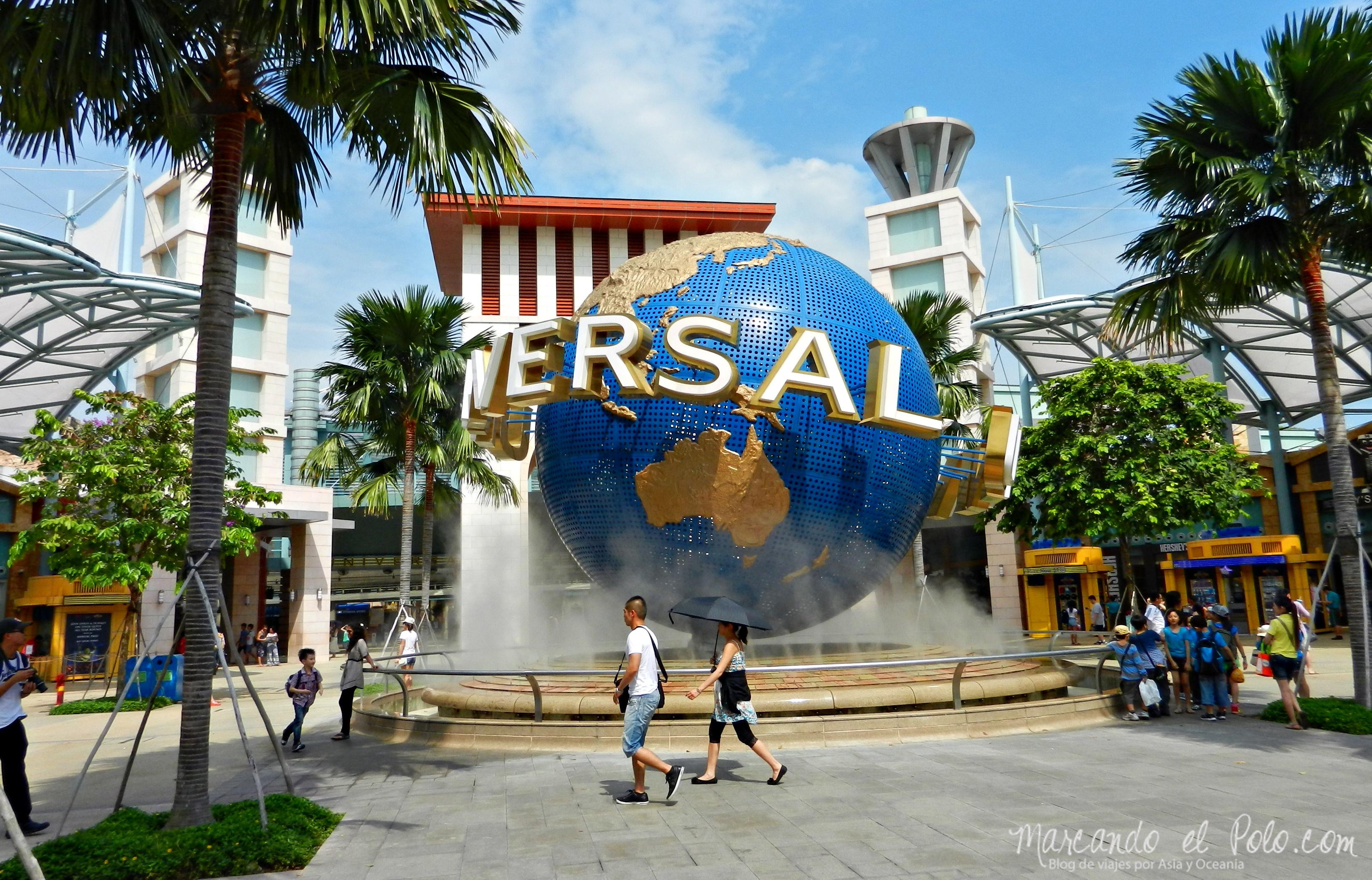 Universal Studios, Singapur, Asia