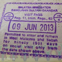 Visa para Malasia