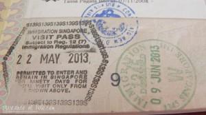 Visa para Singapur