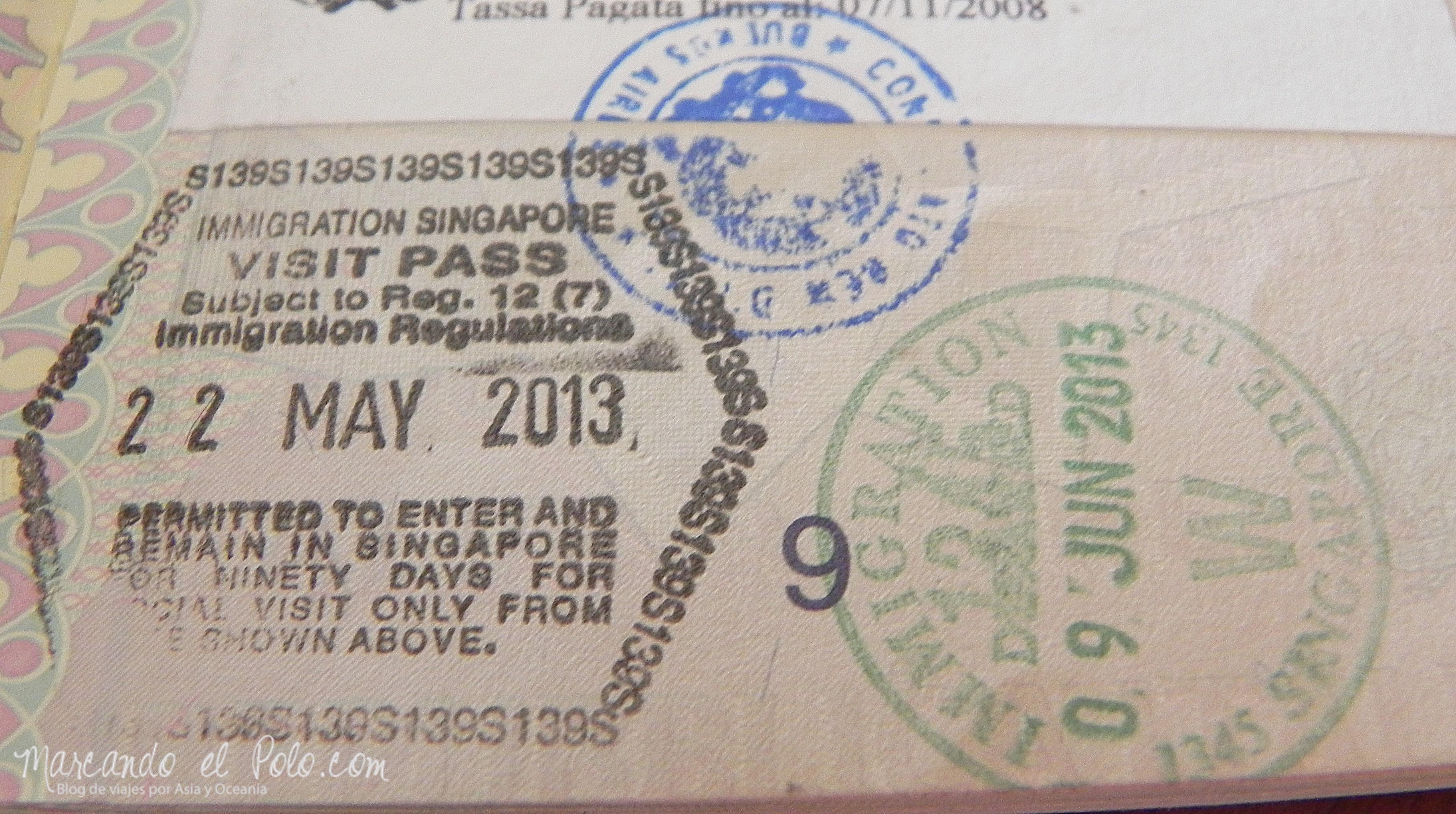 виза в сингапур из малайзии Вакансии Этикетка Санкт-Петербург