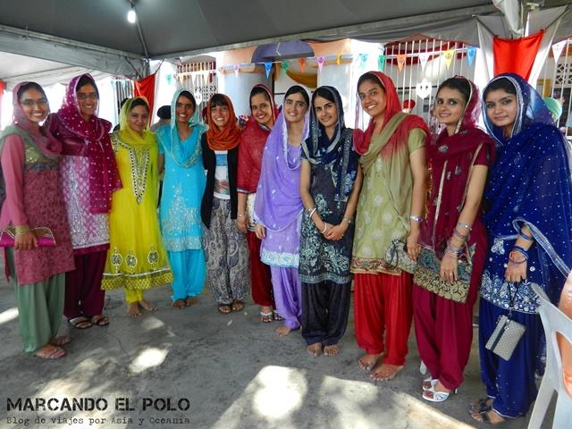 Invitada a un casamiento de la comunidad sikh