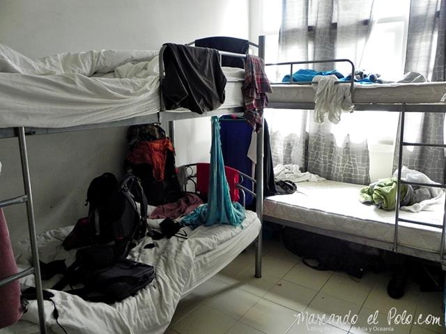 Viajar a Singapur - Dormi en Hostel