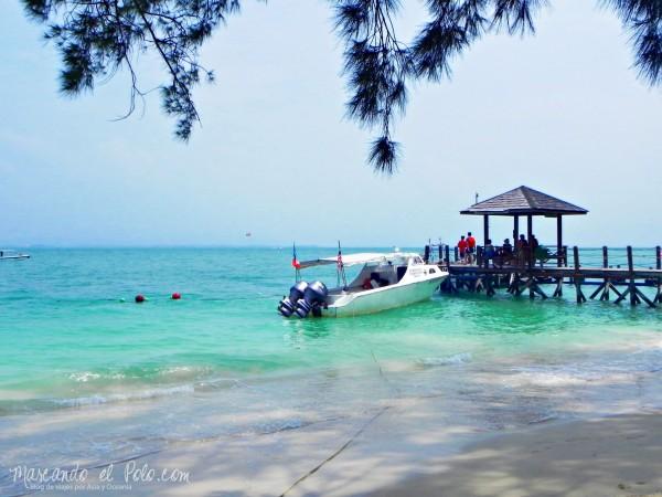 Iinerario viajar a Malasia: Parque Nacional Abdul Raman, Kota Kinabalu