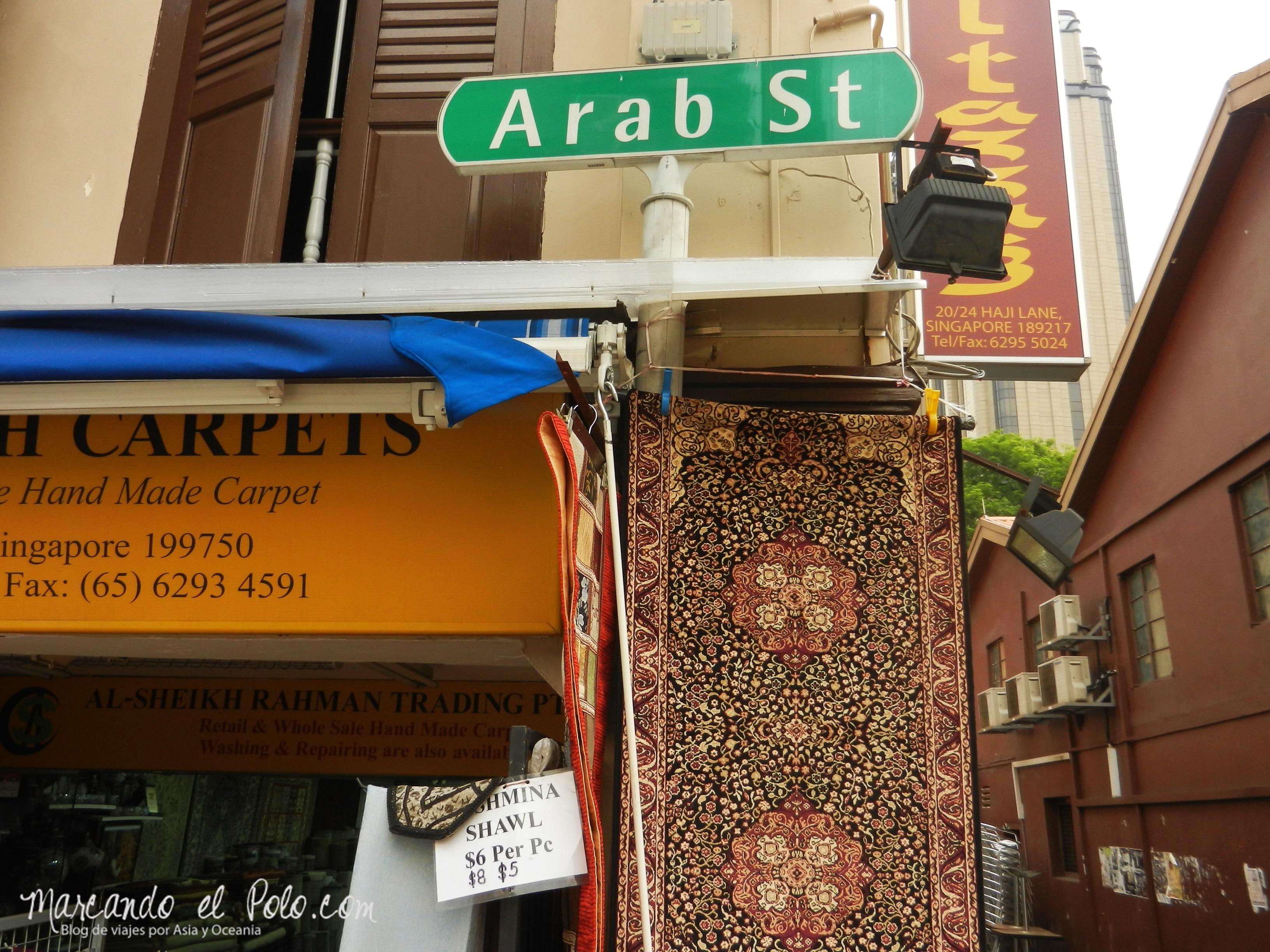 Arab St, Singapur, Asia
