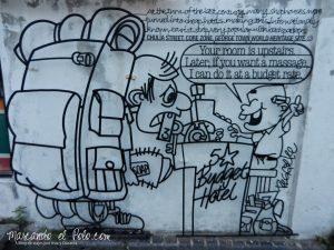 Arte callajero en Penang, Chulia ST