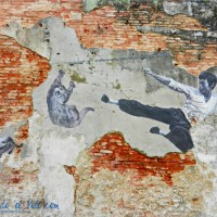 Arte Callejero Bruce Lee, Penang, Malasia