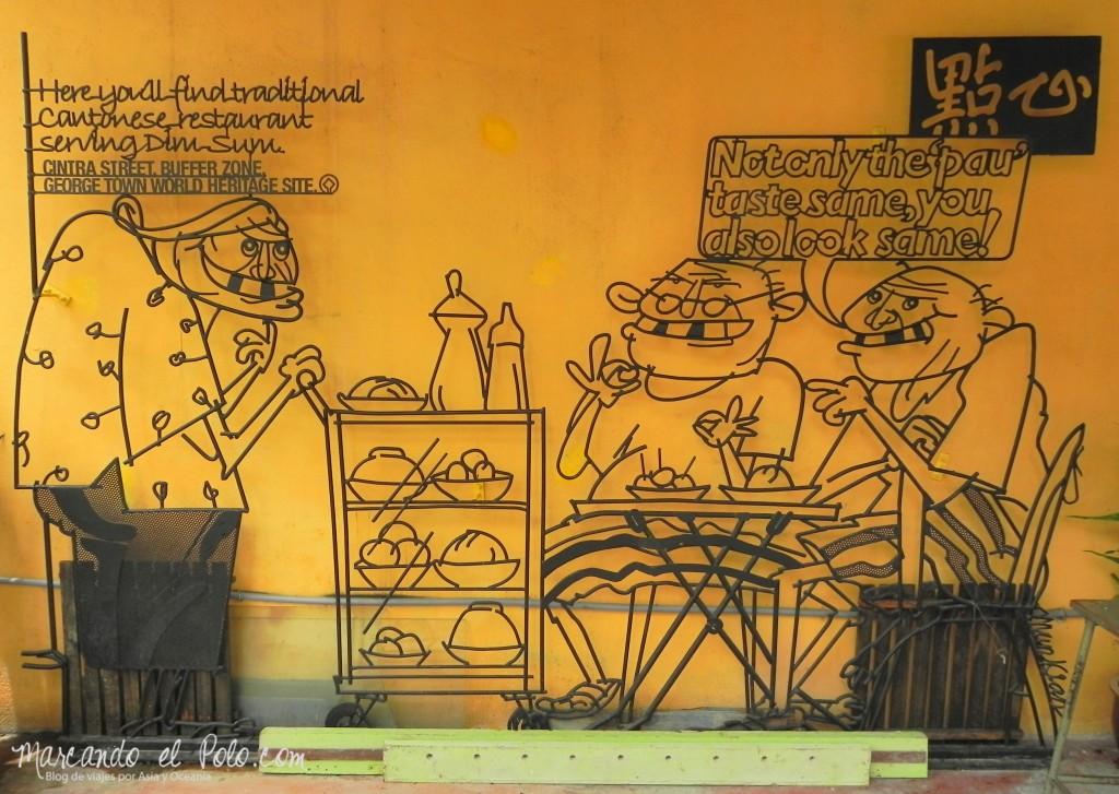Arte callejero Penang, Malasia 1