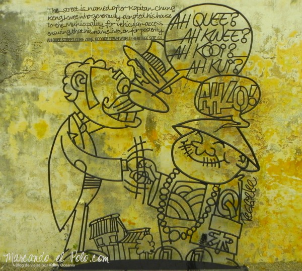 Arte callejero Penang, Malasia 2