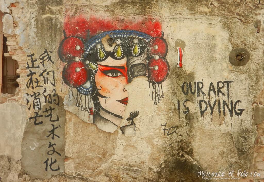 Arte callejero Penang, Malasia 24
