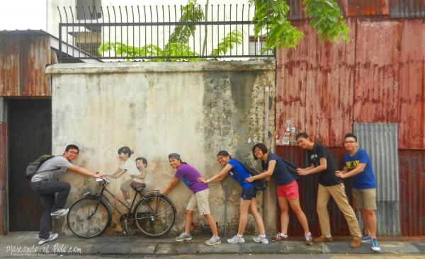 Arte callejero Penang, Malasia 27