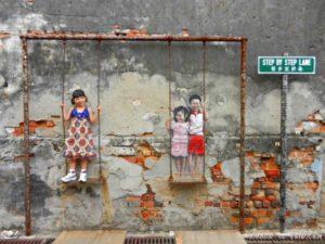 Arte callejero Penang, Malasia 28