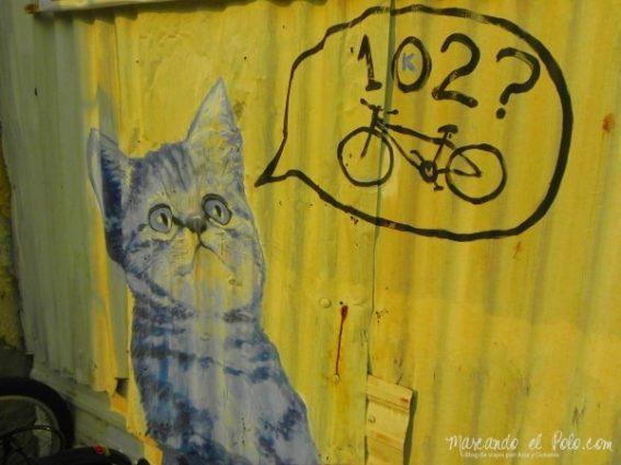 Arte callejero Penang, Malasia 3