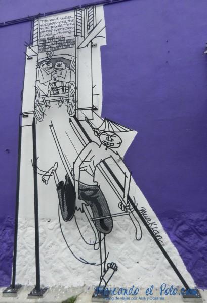 Arte callejero Penang, Malasia 7