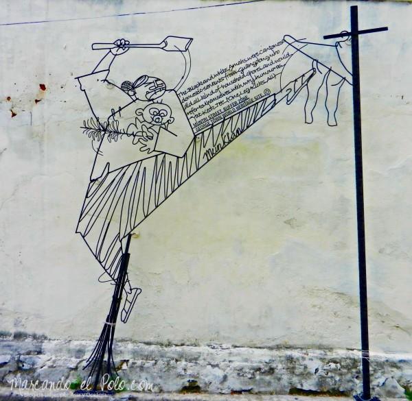 Arte callejero Penang, Malasia 9
