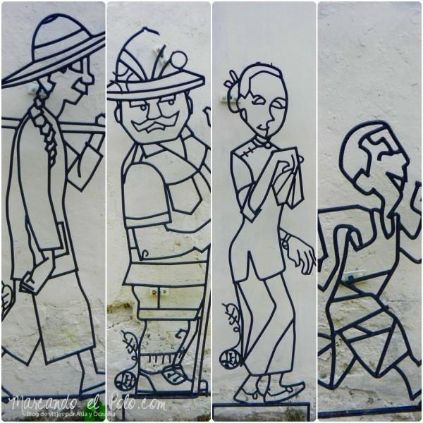Arte callejero Penang, Malasia