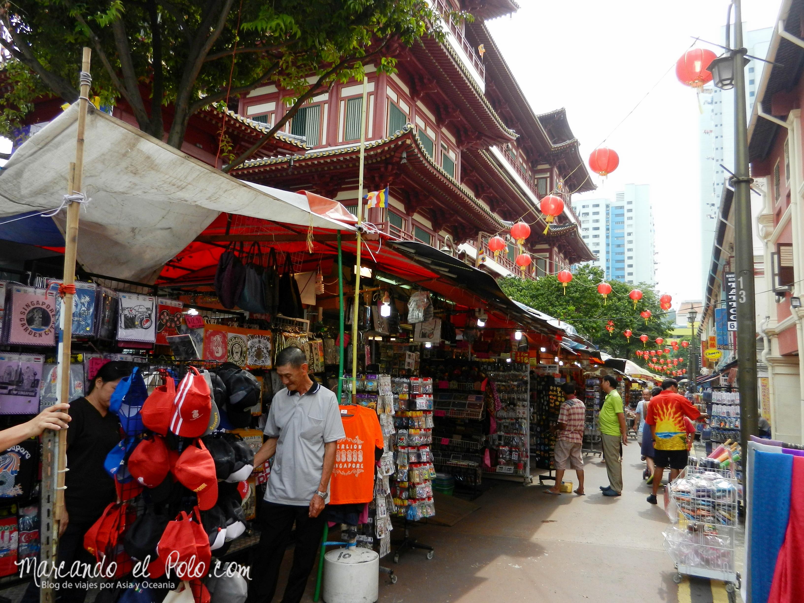 Barrio chino, Singapur, Asia