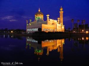 Viajar a Brunei - Mezquita Omar Ali Saifuddie