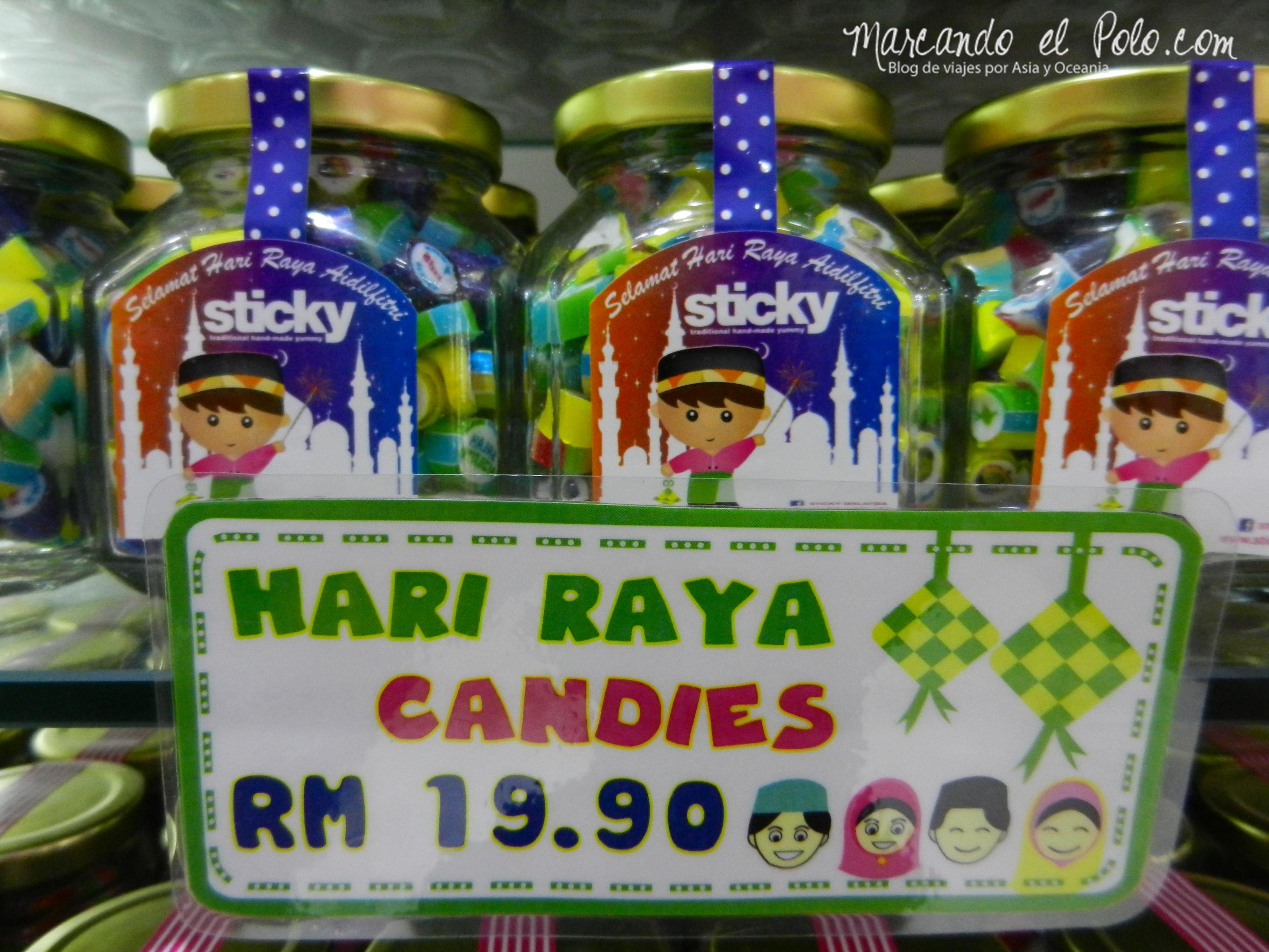 Caramelos de Hari Raya, Malasia