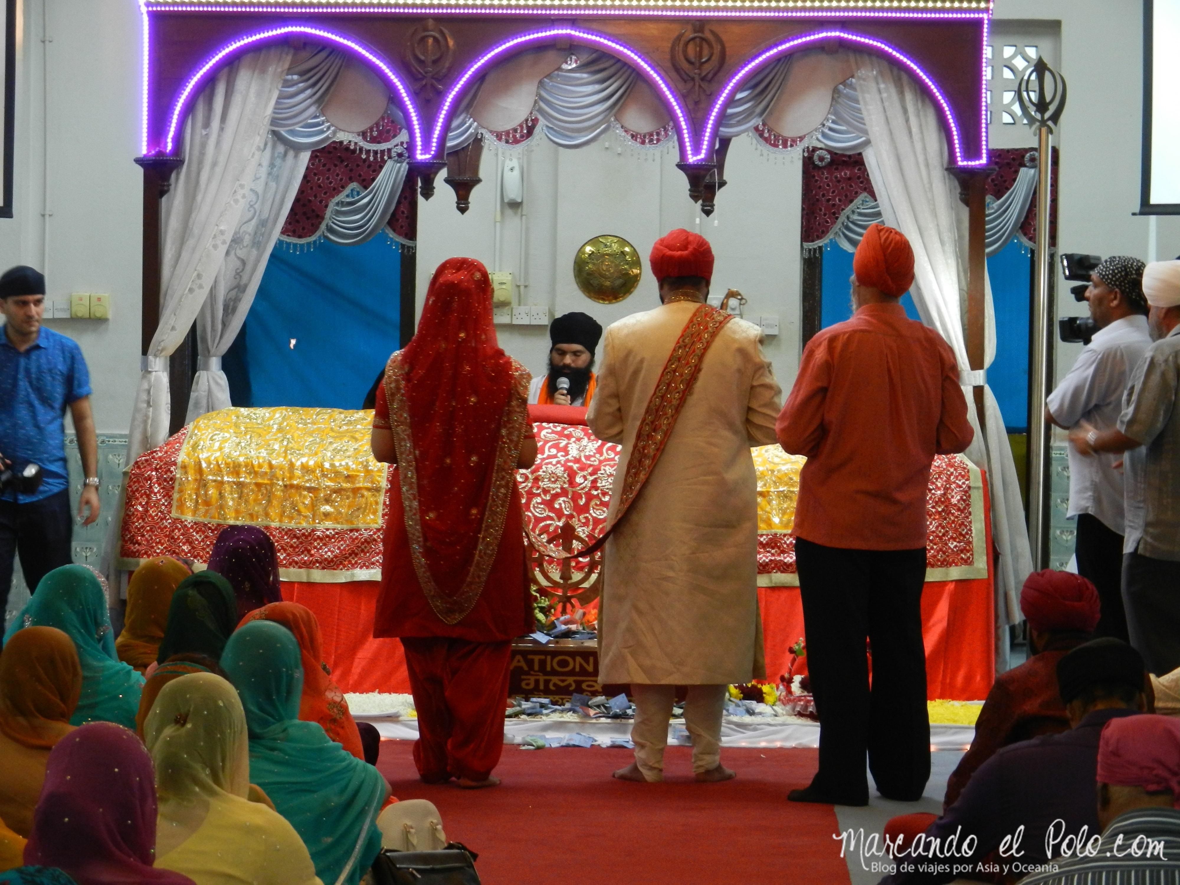 Casamiento Sikh en Penang, Malasia 10