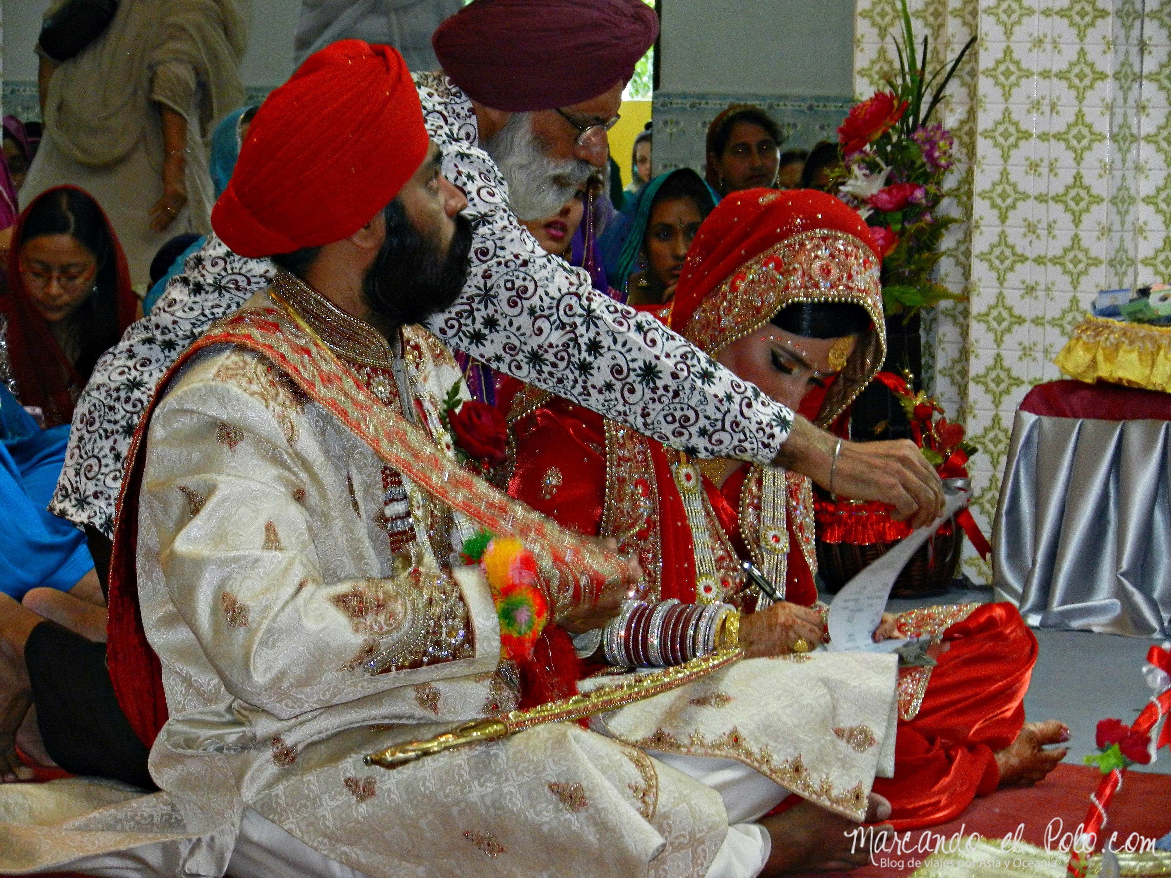 Casamiento Sikh en Penang, Malasia 11