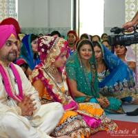 Casamiento Sikh en Malasia.
