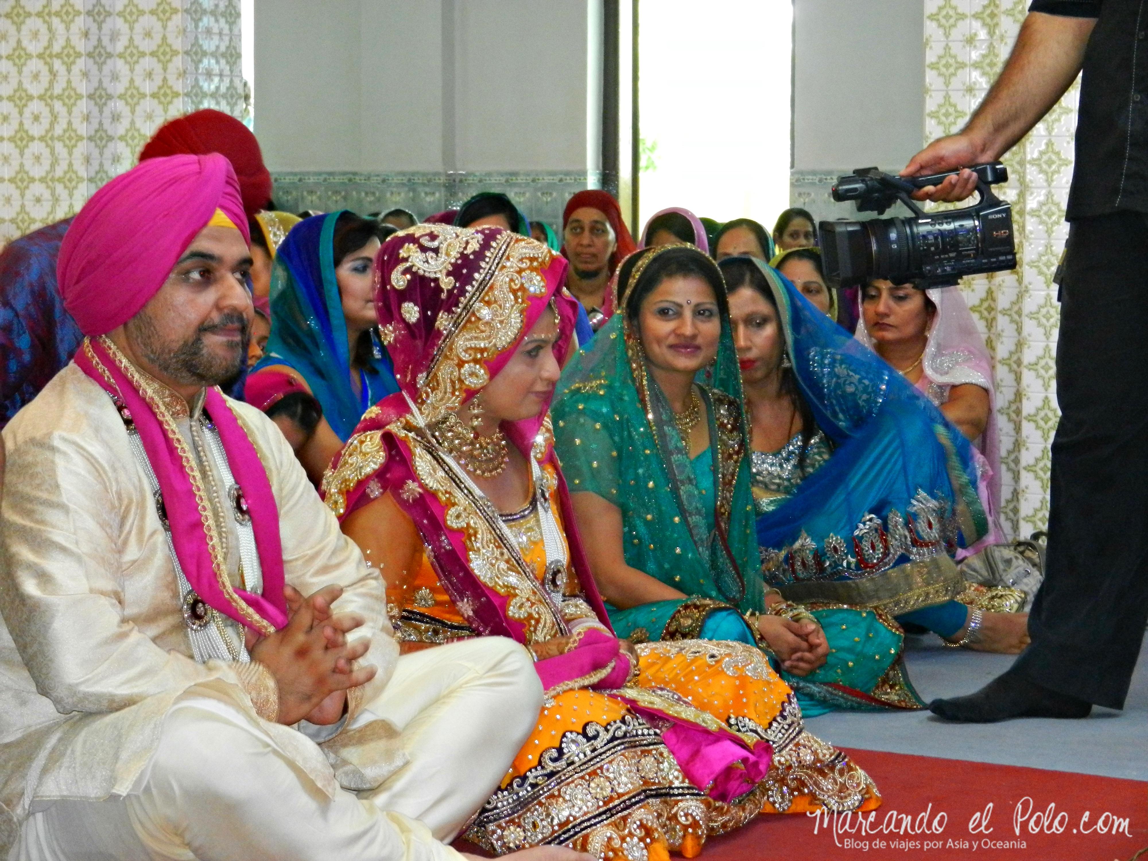 Casamiento Sikh en Penang, Malasia 22