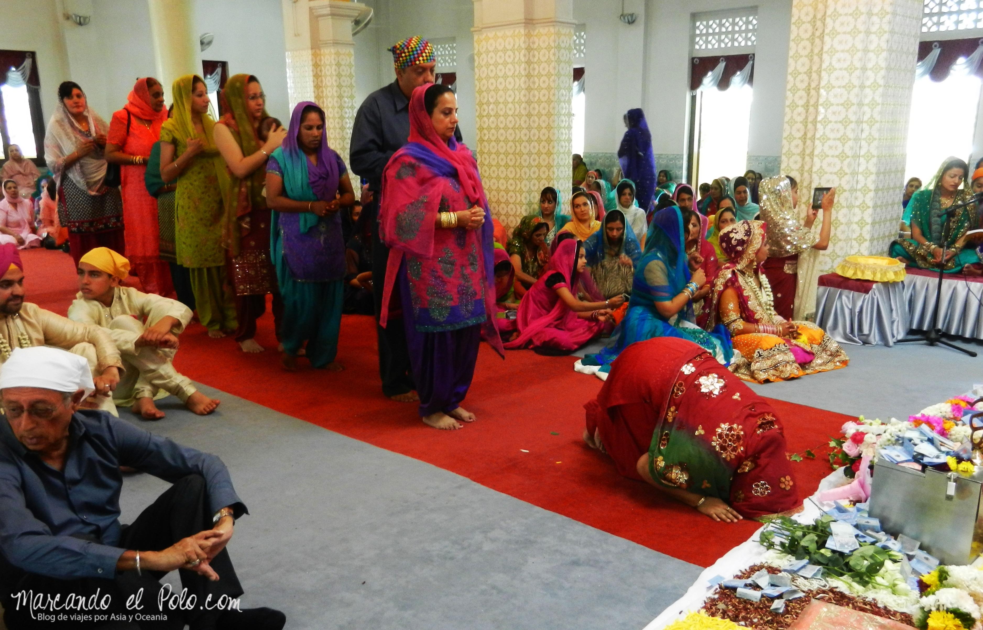 Casamiento Sikh en Penang, Malasia 24