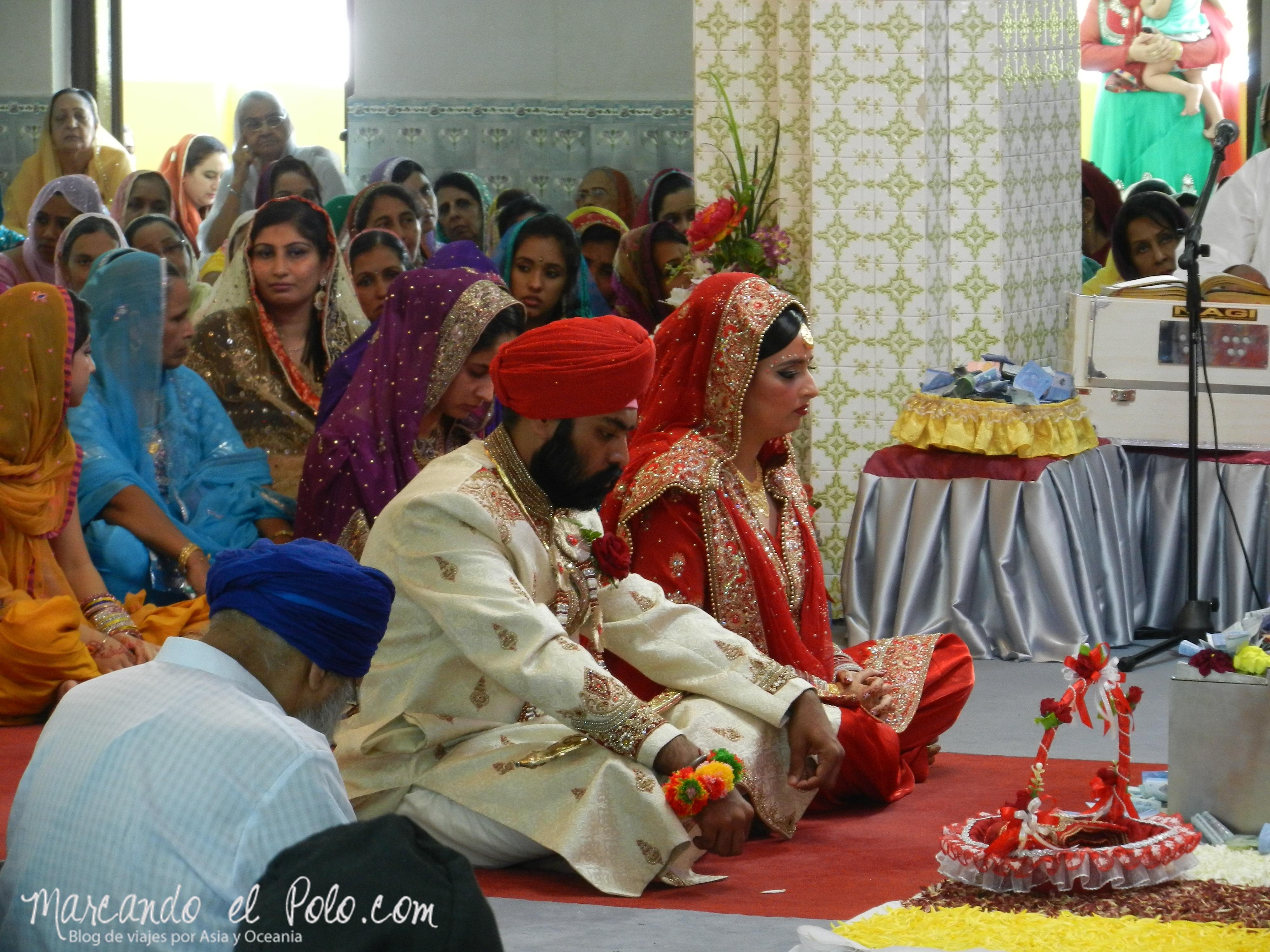 Casamiento Sikh en Penang, Malasia 9