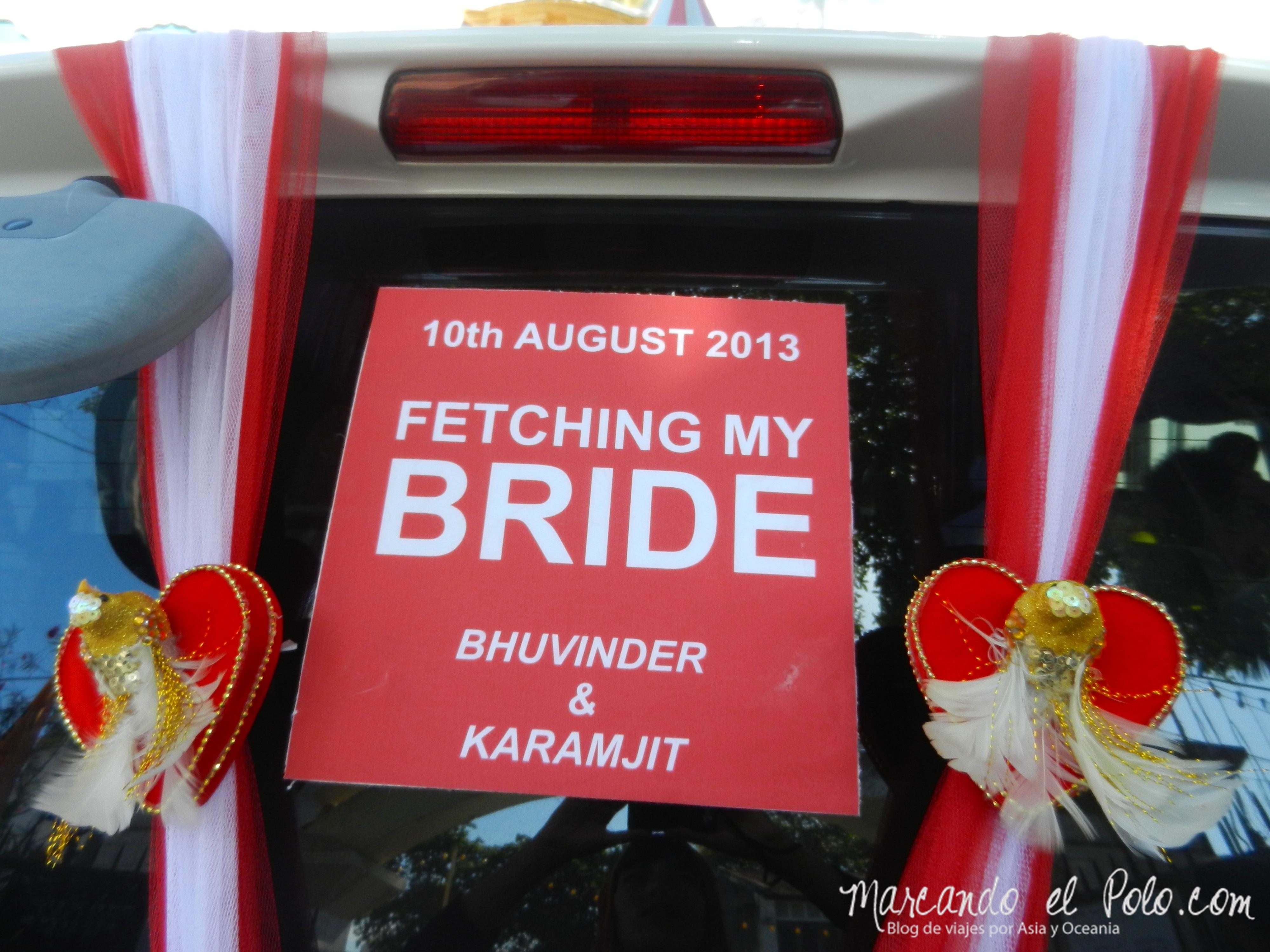 Casamiento Sikh en Penang, Malasia