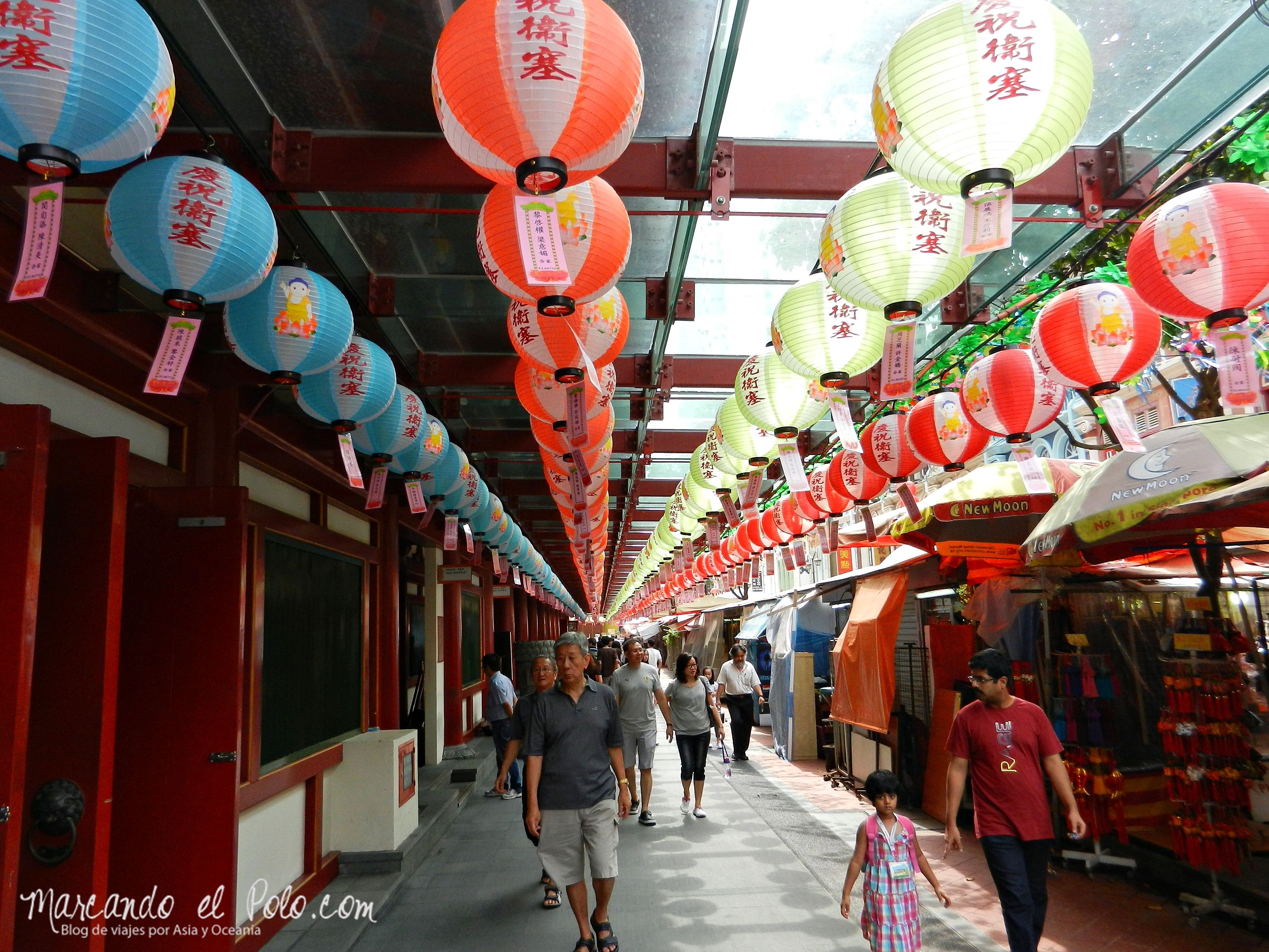 Chinatown, Singapur, Asia